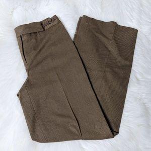 LOFT Ann Taylor Brown Dress Pants Trousers Slacks